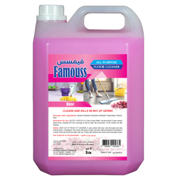 Famouss All Purpose Floor Cleaner Rose - 5 Liters