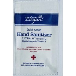 Elegant Hand Sanitizing Gel Sachet