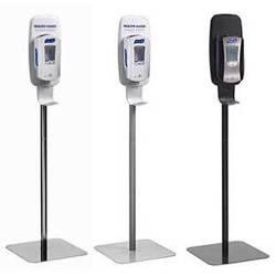 Touch-Free Dispenser Floor Stand for Hand Sanitizer Dispenser
