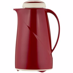 Helios Vacuum Flask 1.0 Ltr - Red