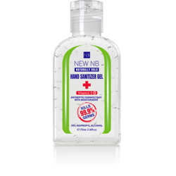 New NB Sanitizer Gel – Flip Top – 70 ML