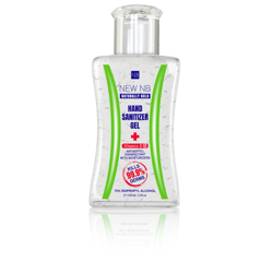New NB Sanitizer Gel – Flip Top – 100 ML