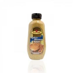 Forrelli Brown Spicy Mustard - 340 Gm