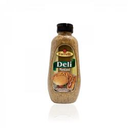 Forrelli Deli Style Mustard - 340 Gm