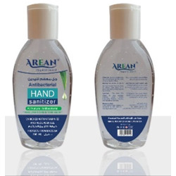 Arean Hand Sanitizer Gel With Fragrance - 100 ml bottle