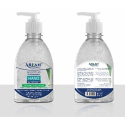 Arean Hand Sanitizer Gel With Fragrance - 500 ml bottle