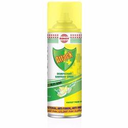 Asmaco Attack Disinfectant Sanitizer 400ml (12pcs/ctn) Fresh Lemon