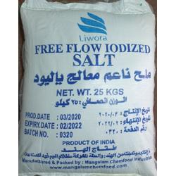 Liwora Salt Bag Liwora - 25 Kg