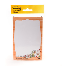 Post-it® Printed Notes 4646-DV-TREND, 3.9 in x 5.8 in - Multicolor