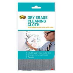 Post-it® Dry Erase Cleaning Cloth DEFCLOTH, 1 Cloth -Black