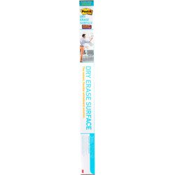 Post-it® Super Sticky Dry Erase Surface DEF6x4, 4 ft x 6 ft -White