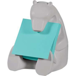 Post-it Z-Notes and Dispensers, BEAR-330 -Multicolor
