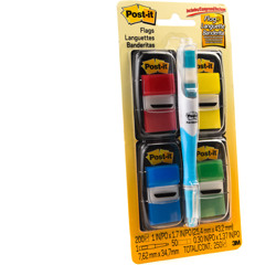 Post-it® Flags 680-RYBGVA, 1 in x 1.71 in, Multicolor