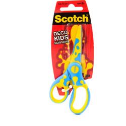 Scotch™ DECO Kids Scissors Mixed Shipper (Green, Blue or Pink) 1/Pack 13 cm preview