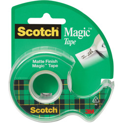 Scotch® Magic™ Transparent Tape 105, 3/4 in x 300 in (OUS Only) -Transparent