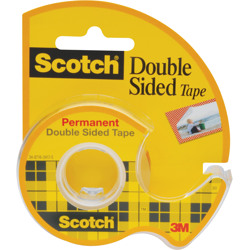 Scotch® Double Sided Tape 136, -Transparent