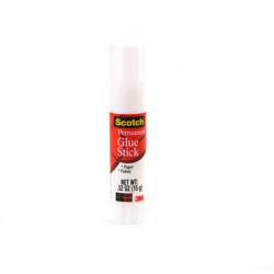 Scotch® White Gluestick 6015-20D-GLB, 15gm, 20 sticks in one deal -White