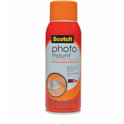 Scotch® Photo Mount™ Adhesive, 6094, 10.3oz -Transparent