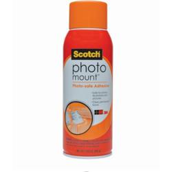 Scotch® Photo Mount™ Adhesive, 6094, 10.3oz -Transparent
