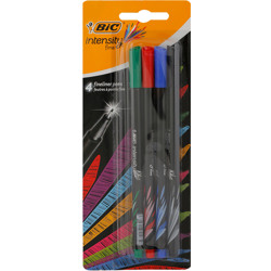 Bic Intensity Blister Fine Pen (4 Pcs)