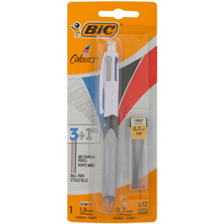 Bic Multifunction Blister 4 Color 1+Lead Pen