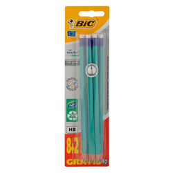 Bic Evolution 655 Hb Promotion Blister Pencil (8+2)