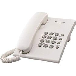 Panasonic KX-TS500 Integrated Corded Telephone, 20.5cm - White