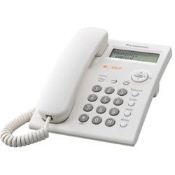 Panasonic KX-TSC11MX Integrated Corded Telephone, 22.5cm - White