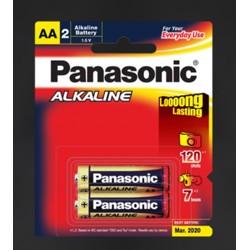 Panasonic LR6T/2B Alkaline AA-Size Battery
