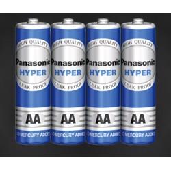 Panasonic R6UT/4S Hyper Manganese AA- Size Battery