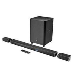 JBL 5.1-Channel 4K Ultra Hd Soundbar With Wireless Subwoofer Bar 5.1 - Black