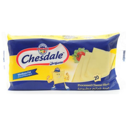 Chesdale Iws, Processed Cheese Slices - - 334G
