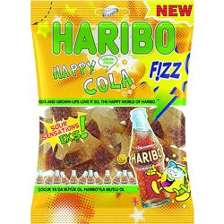 Haribo Fizz Happy Cola - 70 Gm