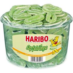 Haribo Apple Rings Dd Sugar - 1 Kg