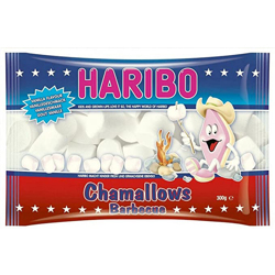 Haribo Chamallows Pink & White for Bbq - 300G