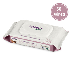 Bambo Nature Eco-Friendly Wipes - 50s