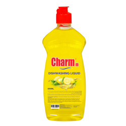 Charmm Dishwashing Liquid Lemon 500ML - PET