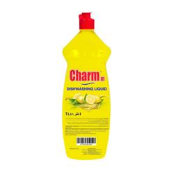 Charmm Dishwashing Liquid Lemon 1L - PET