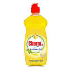 Charmm Anti-Bacterial Dishwash Liquid Lemon - 500ML