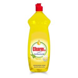 Charmm Anti-Bacterial Dishwash Liquid Lemon - 1L