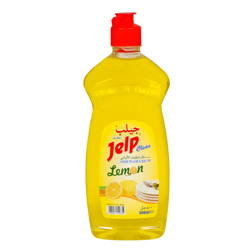 Jelp Clean Dishwashing Liquid Lemon - 500ML - PET