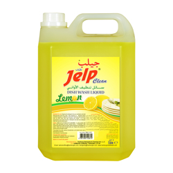 Jelp Clean Dishwashing Liquid Lemon - 5L