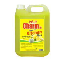Charmm Dishwashing Liquid Lemon - 5L