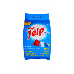 Jelp Clean Detergent Powder Bag - 3Kg