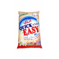 Quick And Easy Detergent Powder - 25Kg