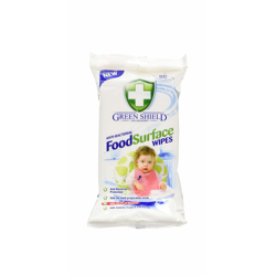 Green Shield Anti-Bacterial Food Surface Wipes - 50S