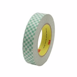 3M Double Coated Paper Tape 410M, 1/2 in x 36 yd 5.0 mm