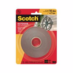3M Scotch 411 Permanent Mounting Tape Red 4.44 meter