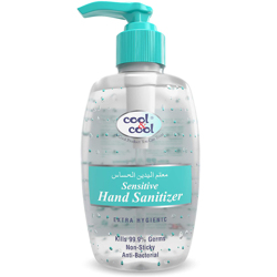 Cool & Cool Sensitive Hand Sanitizer Gel - 250ml