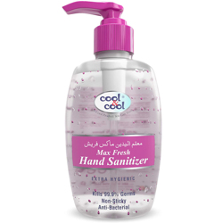 Cool & Cool Max Fresh Hand Sanitizer Gel- 250ml